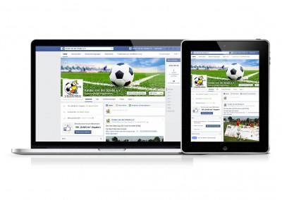 Facebook-Auftritt: Erstellung & Pflege für Kinder von der Straße e.V.