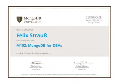 M102: MongoDB for DBAs