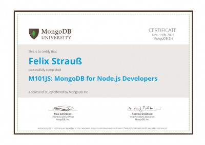 M101JS: MongoDB for Node.js Developers