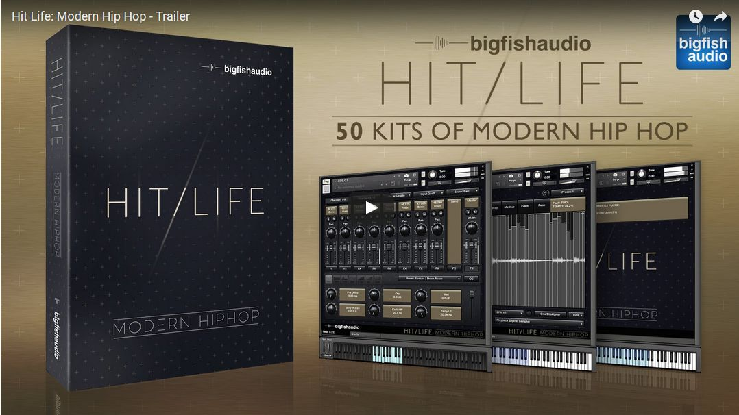 Bigfish Audio KLI 3.0 / Hit Life: Modern Hip Hop